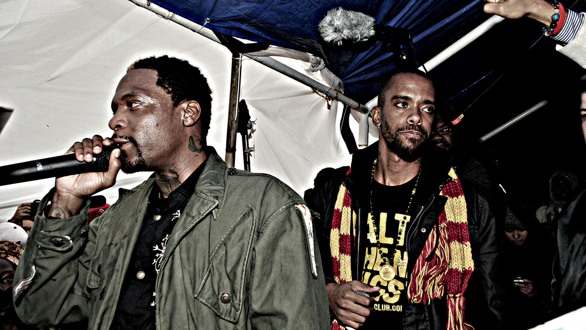 occupy dc: dead prez & some